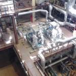 Изоляционные работы внутрицеховых трубопроводов