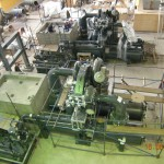 Монтаж оборудования машинного зала