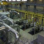 Внутрицеховое оборудование вновь построенной станции